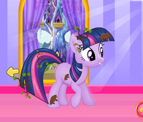 My Little Pony Rainy Day Game