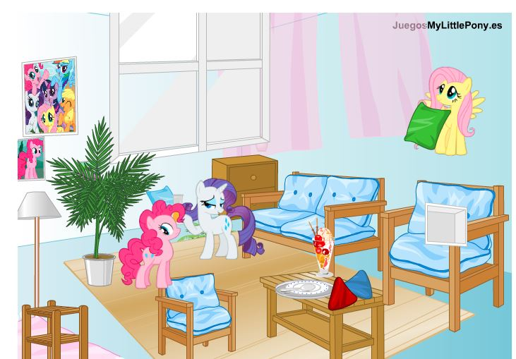 My Little Pony Room Game