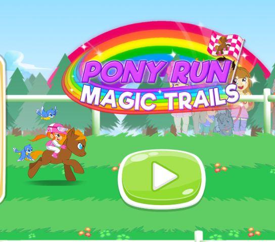 My Little Pony Run Magic Trials Game