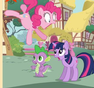 My Little Pony Spot Differences Game
