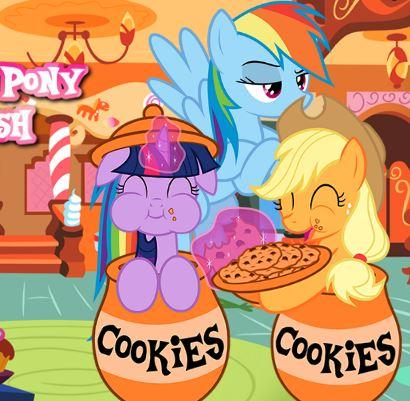 My Little Pony Sugar Rush Game