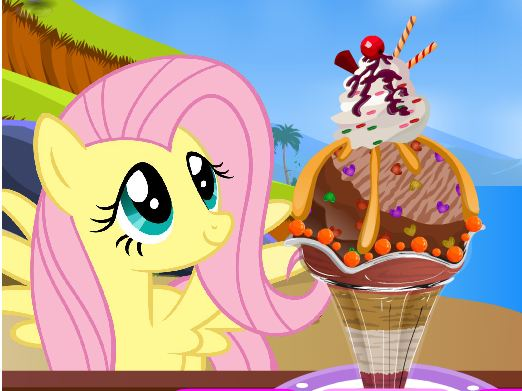 My Little Pony Sundae Game
