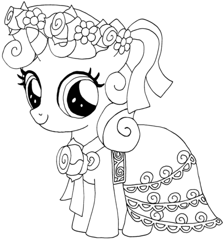 My Little Pony Sweetie Belle from My Little Pony Game