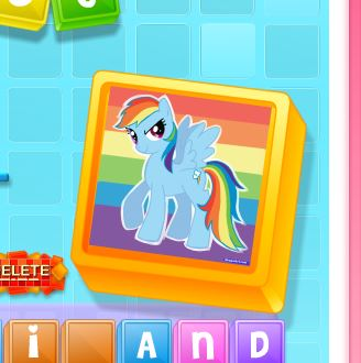 My Little Pony Trivia Scramble Game