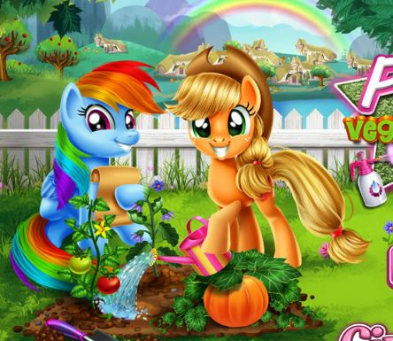 My Little Pony Veggie Garden Game