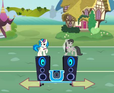 My Little Pony Wedding Crushers Game