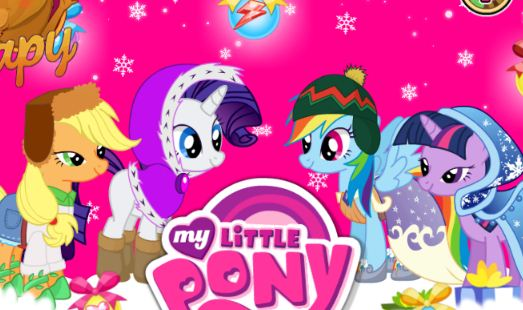 My Little Pony Winter Look Game
