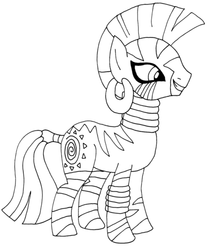 My Little Pony Zecora from My Little Pony Game