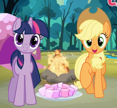 My Lttle Pony Camp Fun Game