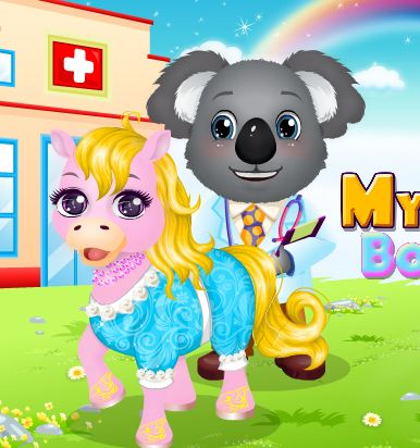 My Pet Doctor Baby Unicorn Game