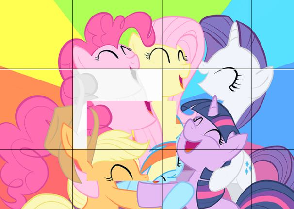 My Little Pony Puzzle 6 Game