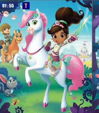 Nella The Princess Knight Differences Game