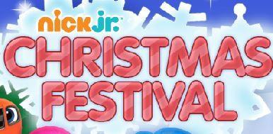 Nick Jr Christmas Festival Game