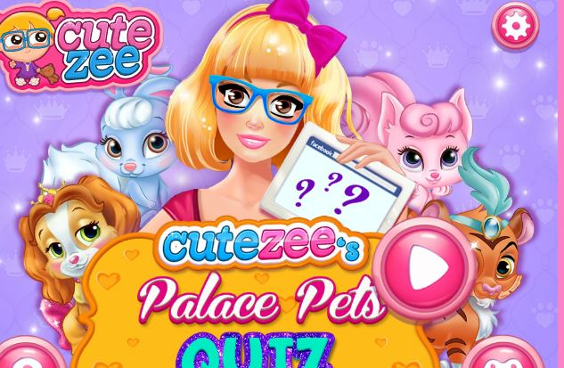 Palace Pets Quiz Game