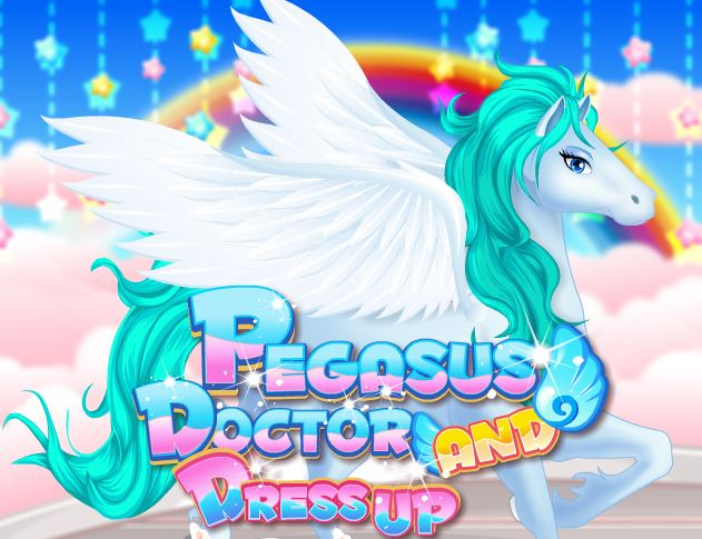 Pegasus Doctor And Dress Up Game