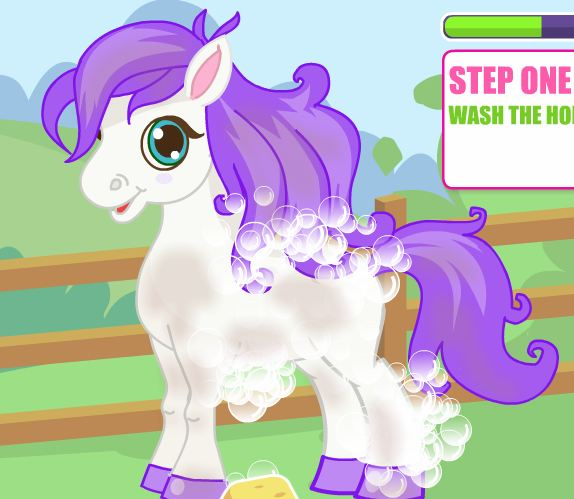 Cute Pony Care 3 Game