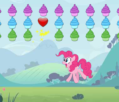 Pinkie Pie Bounce Game