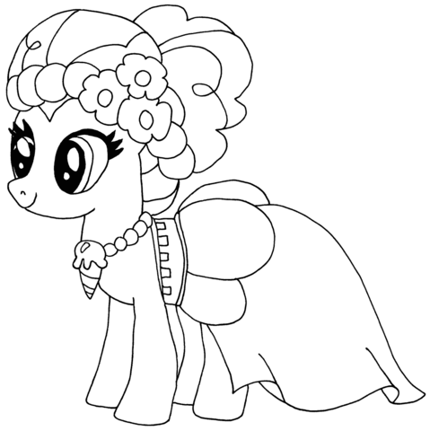 Pinkie Pie from My Little Pony Game