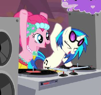Pinkie Pie Dj Party Game