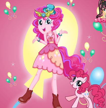 Pinkie Pie Party Time Game