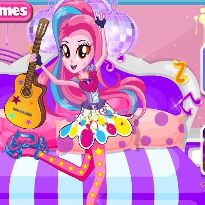 Pinkie Pie Rainbow Rocks Game