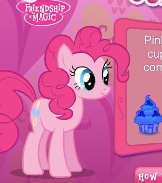 Pinkie Pie's Cupcake Maker Game