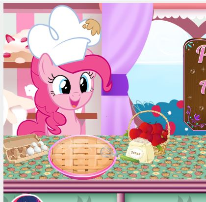 Pinkie Pie Apple Pie Recipe Game