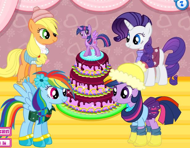Pony Berry's Birthday Party Game