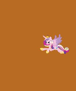 Pony Cadence Flight Princess Game