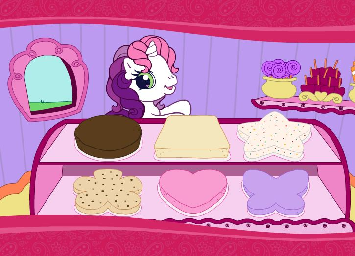 Pony Cake Design Game