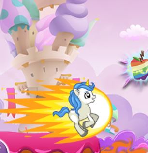Pony Candyland Run Game