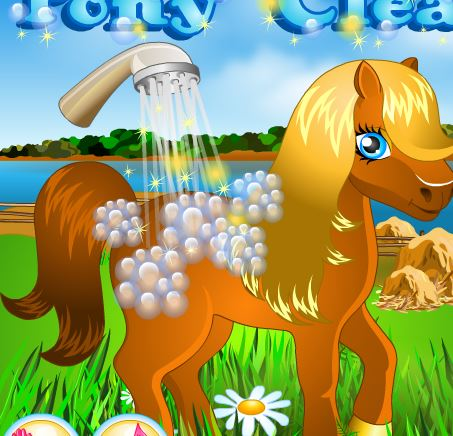 Pony Cleaning Game