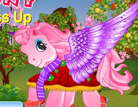 Pony Dress Up 3 Game