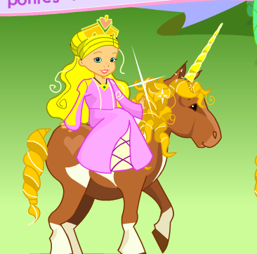 Pony For Princess Game