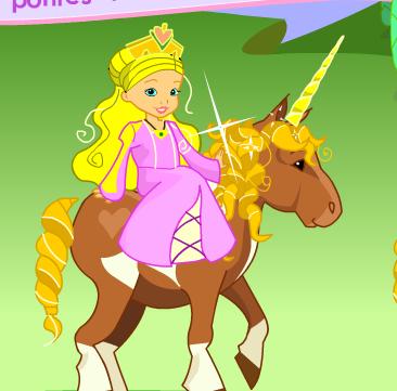 Pony For Princess Game
