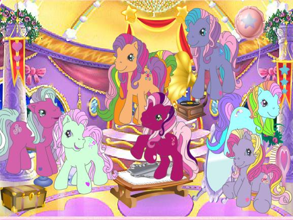 Pony Friendship Ball Game
