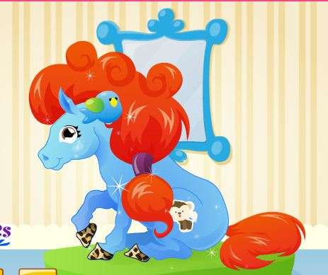 Pony Hairstylist Game