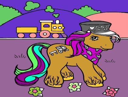 Pony Kleuren Game