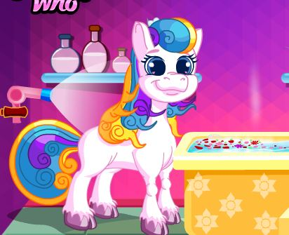 Pony Makeover Game