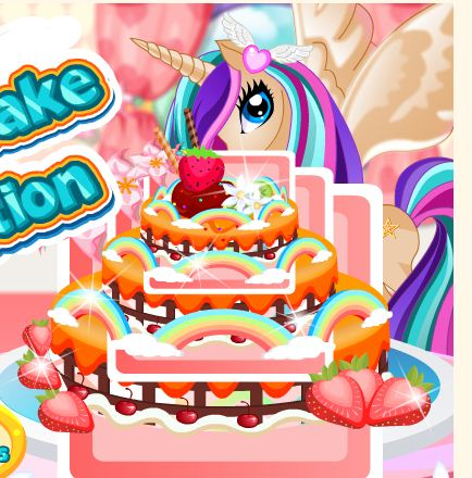 Pony Princess Cake Decoration Game