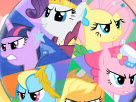 My Little Pony Round Puzzle Game