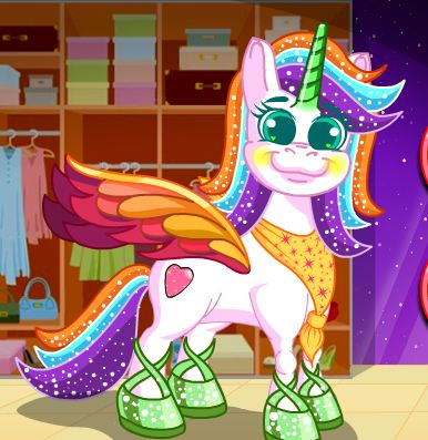 Pony Show Makeover Game