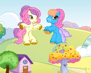 Ponyland Decoration Game