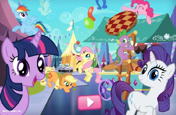 Ponyville Find Items Game