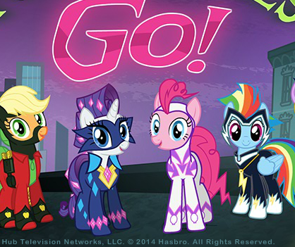 Power Ponies Go Game