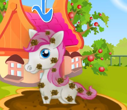 Pretty Pony Day Care Game