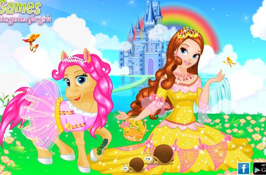 Princess And Her Pony Game
