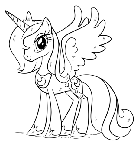 Princess Luna from My Little Pony Game