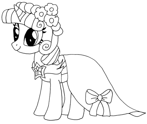 Princess Twilight Sparkle From My Little Pony