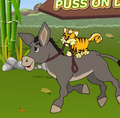 Puss Donkey Game